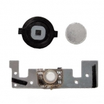 Complete Home Button Circuit with Iron Piece for iPod Touch 2 3