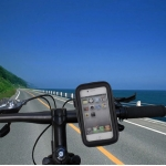 Water-proof Bag Bicycle Tough Touch Case Phone Holder for iPhone 4