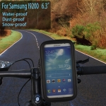 Water-proof Bag Bicycle Tough Touch Case Phone Holder for Samsung i9200
