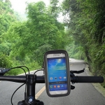 Water-proof Bag Bicycle Tough Touch Case Phone Holder for Samsung S4 Mini