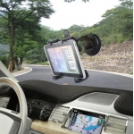 Universal ​Car Windshield Holder for iPad Samsung Tablet