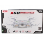 SYMA X5C 2.4GHz 4-axis 2.0MP HD Camera ​RC Quadcopter with Aerial Photography Function, 4CH 6-axis G...