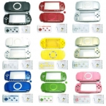 Colorful Full Housing Shell Faceplate Cover Case replacement for Sony PSP 1000