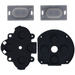 Conductive Rubber Button Switch Pad Set Replacement for PSP1000 (4pcs)