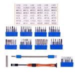 Jakemy JM-8126 Interchangeable Magnetic Screwdriver Kits 58pcs